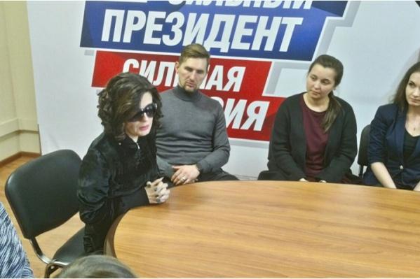 Диана Гурцкая приехала к детям с ограниченными возможностями