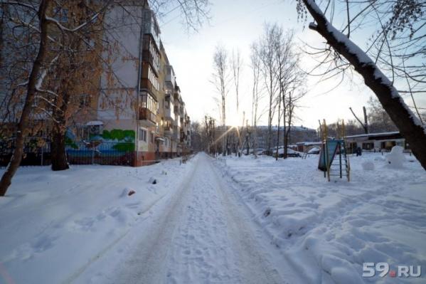 За несколько дней Пермь успело засыпать снегом