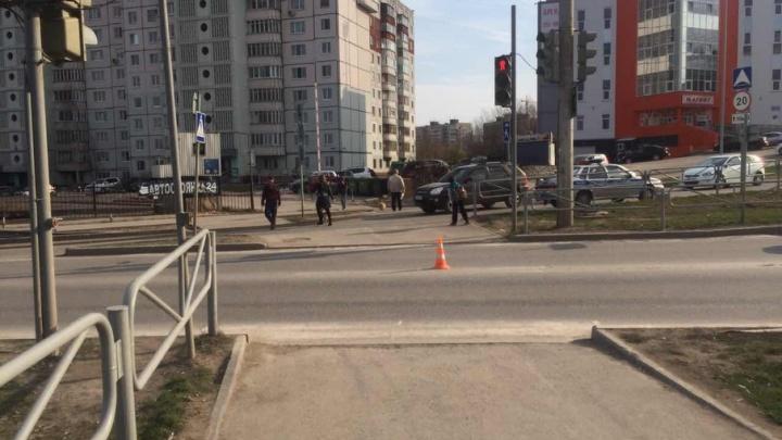 В Перми мотоциклист сбил 44-летнюю женщину на пешеходном переходе
