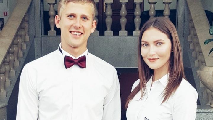 Один выступал в Кремле, другая учится на врача: пара тюменцев борется за звание лучших студентов России
