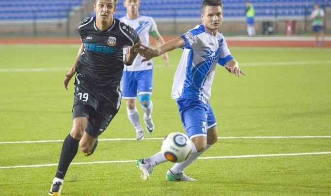 Тюменские футболисты сыграли вничью с новосибирцами