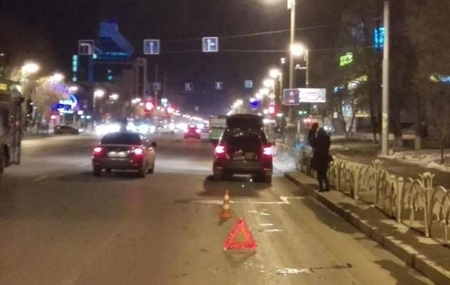 ДТП с подростками на улице Республики сняли на видео