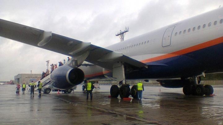 Из-за метеоусловий «Аэрофлот» перенес рейс из Москвы в Архангельск