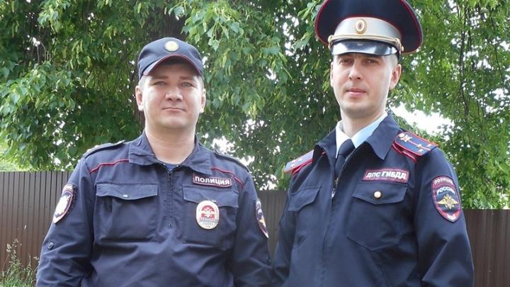 Сбежать не удалось: в Прикамье полицейские задержали с поличным двух угонщиков