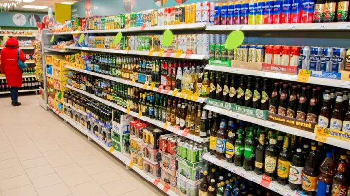 В Самарской области девушка украла из магазина семь бутылок виски и пыталась скрыться на машине