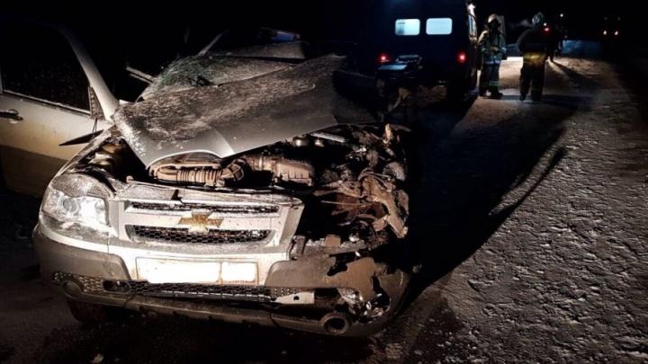 Смертельное ДТП под Нефтегорском: на трассе лоб в лоб столкнулись фургон и «Шевроле Нива»