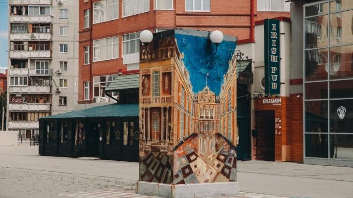На Литературном бульваре появятся скамейки и зелень