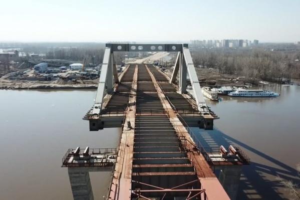Стоимость строительства моста оценивают в 12,3 миллиарда рублей