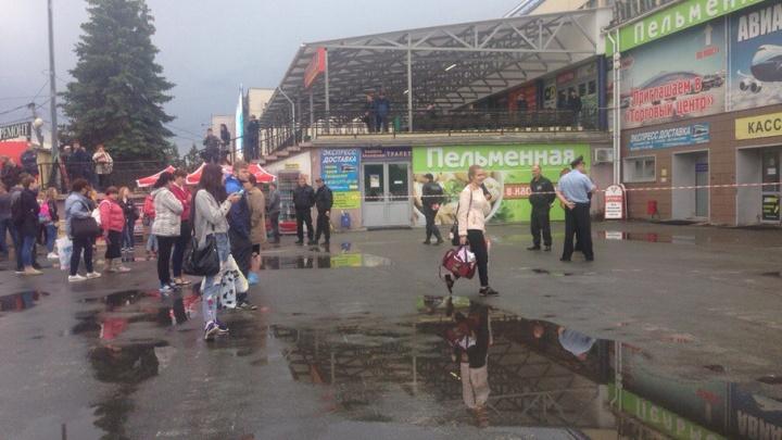 Автовокзал в Челябинске оцепили из-за угрозы взрыва