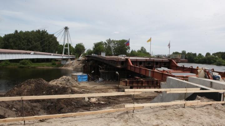 Новый мост через Которосль откроют в июне