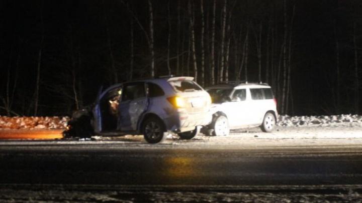 В Северодвинске пьяный водитель на «Додже» спровоцировал тройное ДТП