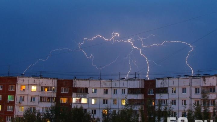 Грозы и сильные порывы ветра: МЧС объявило в Прикамье штормовое предупреждение