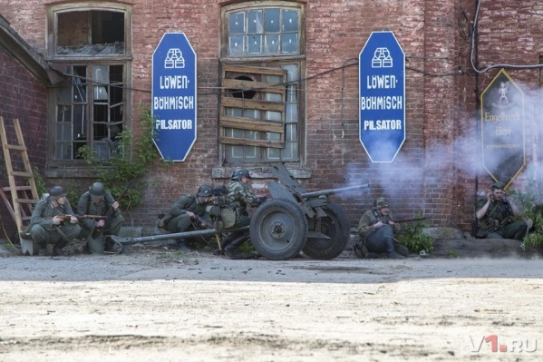 Бои за Берлин идут на территории заброшенного завода «Динамо»