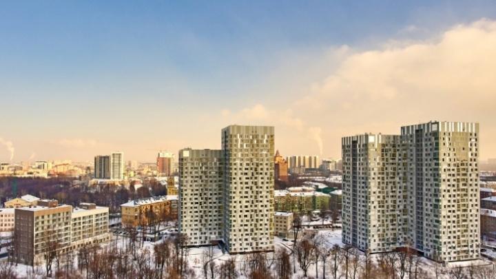 В центре Перми продолжается активное строительство жилого квартала «Гулливер»