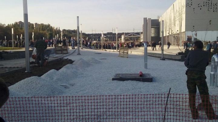 Перед музеем «Россия — моя история» выстроилась очередь из тысячи волгоградцев