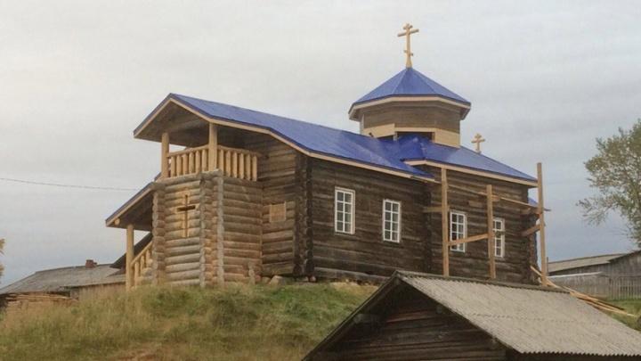 Храм в Пинежском районе отреставрировали на средства местных жителей