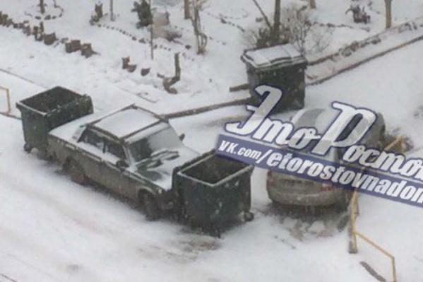 Водитель «Жигулей», по мнению ростовчан, теперь вспомнит о правилах парковки