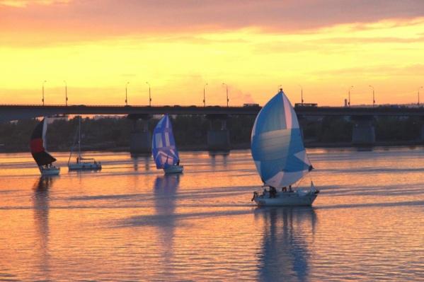 В рамках проекта «Субботы на набережной» в Перми пройдет парад яхт