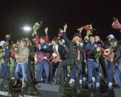 На стадионе «Славнефть» отпраздновали День нефтяника