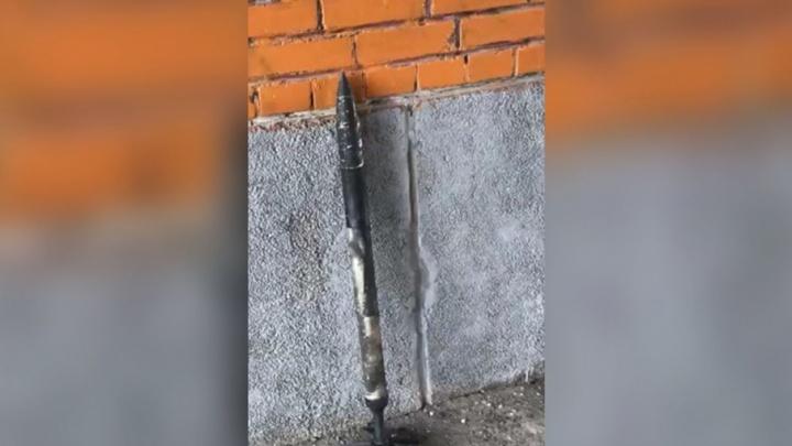 «Ребёнок в слезах прибежал»: школу под Челябинском эвакуировали из-за авиационной ракеты