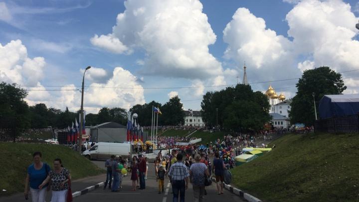 На День города перекроют весь центр Ярославля: где запретят ездить