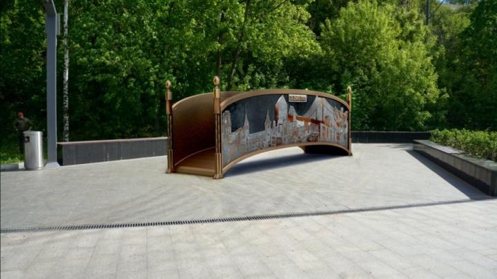 Построили за две недели: на пермской эспланаде поставят мост дружбы