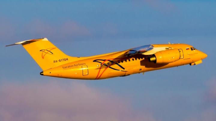 Самолет, рухнувший в Подмосковье, ранее летал в Тюмень
