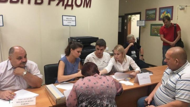 Пострадавшим от пожара ростовчанам начали выдавать транспортные карты