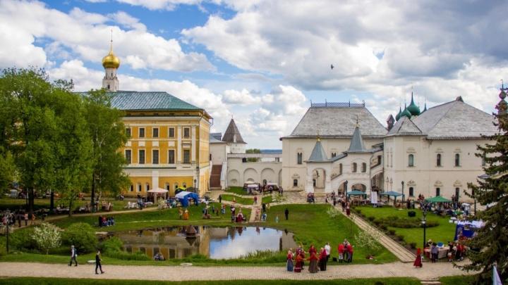 Ростовский кремль на три дня превратится в ярмарку ремесел