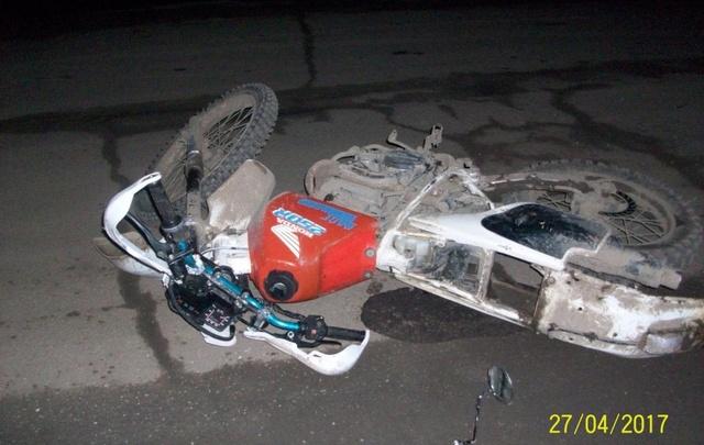 В Прикамье 15-летний мотоциклист сбил пенсионера