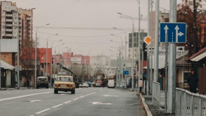 На обновленной улице Чернышевского запретят левые повороты