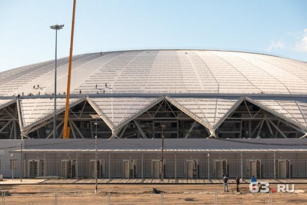 Стадион ввели в эксплуатацию в апреле
