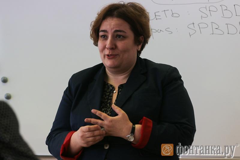 Елена Сливко-Кольчик директор макрорегина Северо-Запад компании Microsoft