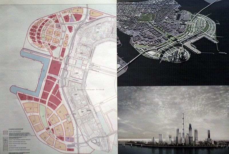 Новая концепция застройки намывных территорий на Васильевском острове