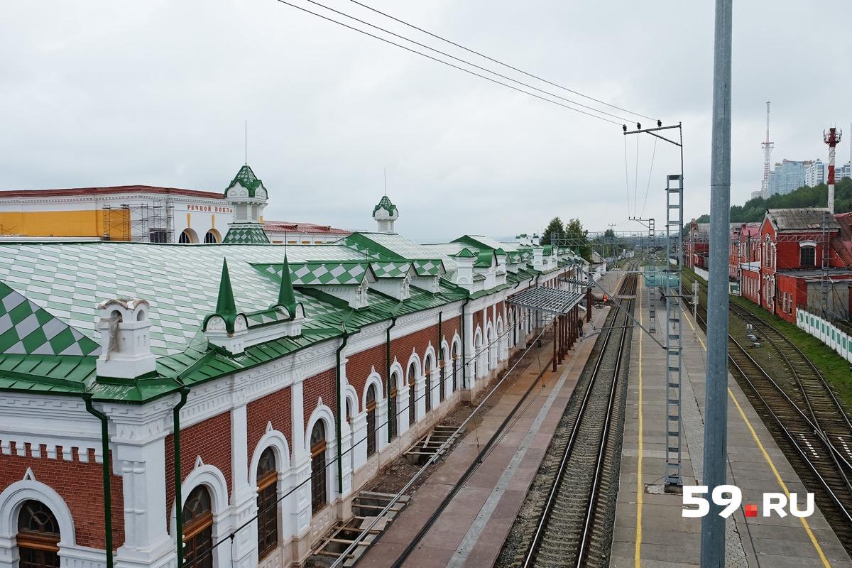 Горнозаводская ветка до конца XIX века заканчивалась на станции Пермь-I