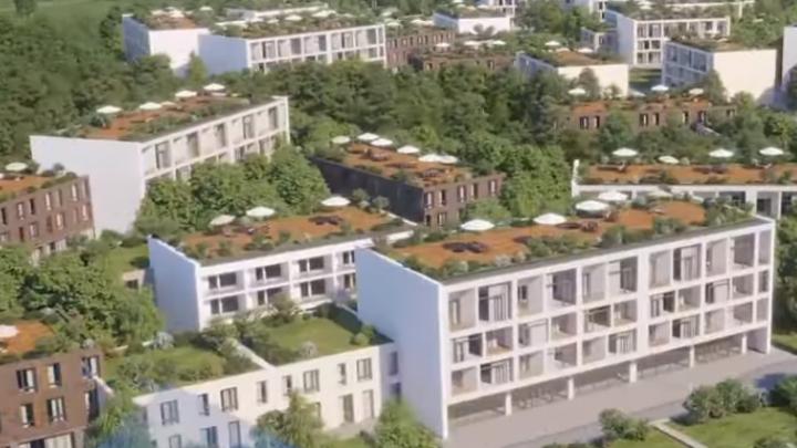 «Умные дома», школы и детсады: «Кортрос» представил проект застройки старого ростовского аэропорта