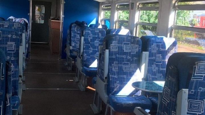 Купе повышенной комфортности: в пермской электричке до Теплой горы появился вагон с удобствами