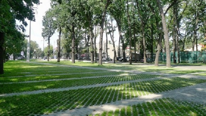 «Зеленую» парковку и цветочные аллеи намерены установить ростовчане на Батуринской