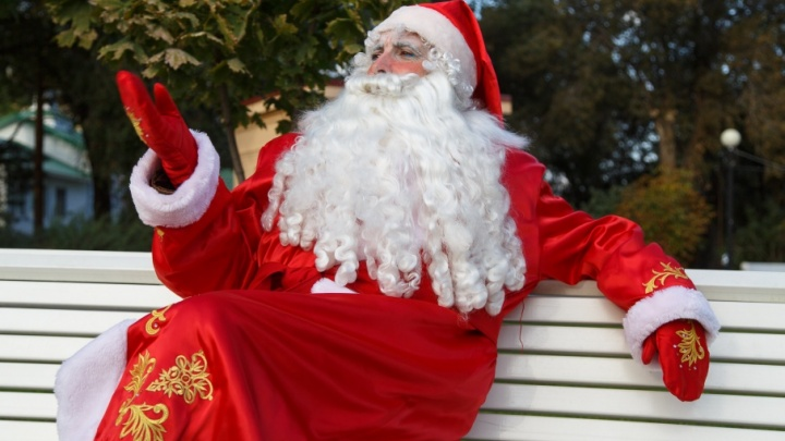 В Волгограде за 100 дней до Нового года объявился Дед Мороз