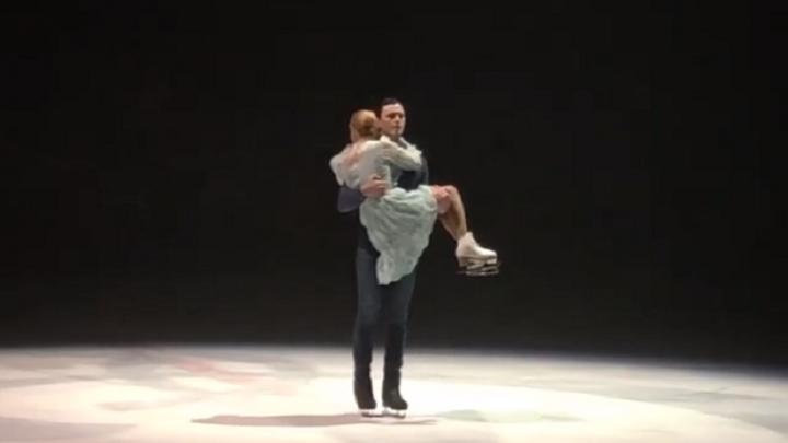 «Вместе и навсегда»: пермская фигуристка Татьяна Тотьмянина впервые после травмы вышла на лед