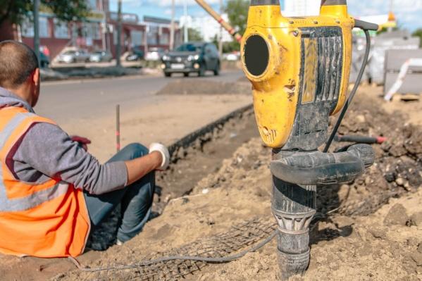 Реконструкцию улицы проведут за счет средств городского бюджета