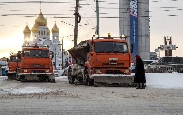 С улиц Архангельска за прошедшие сутки вывезено более 5 тысяч кубометров снега