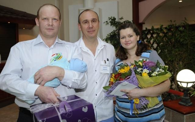 В «Медлайфе» родился трехтысячный ребенок