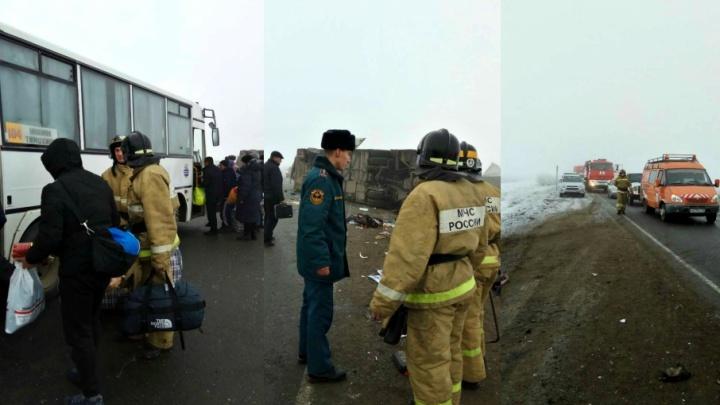 У пассажира из Киргизии — перелом рёбер, возбуждено уголовное дело: подробности ДТП на тюменской трассе
