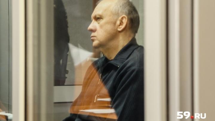 За взятки прокурор попросил приговорить экс-начальника ГУФСИН Прикамья к 12 годам строгого режима