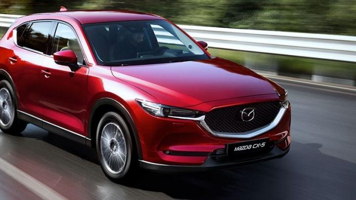 Автомир представляет: новый автомобиль Mazda CX-5