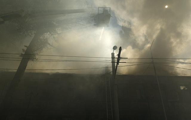 В Ростовской области во время пожара погибла 60-летняя женщина