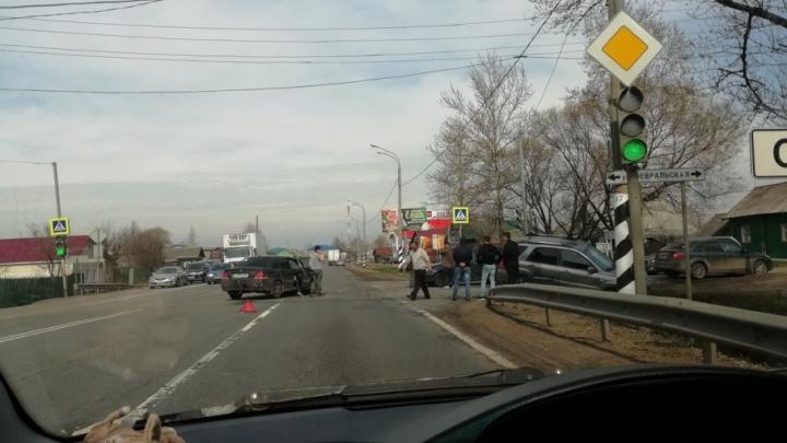 ДТП в Ростове: машины разбились всмятку