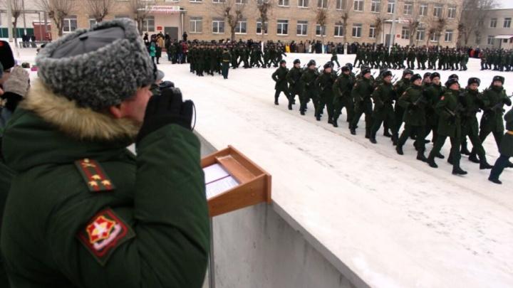 В Самарской области 400 новобранцев ЦВО приняли присягу