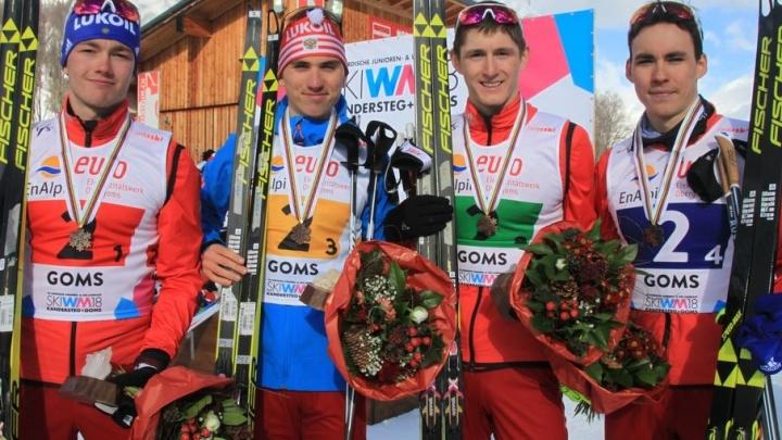 Поморский лыжник Александр Терентьев завоевал бронзу на первенстве мира